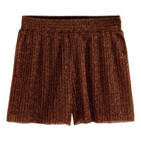 H&M Pleated Shorts $15