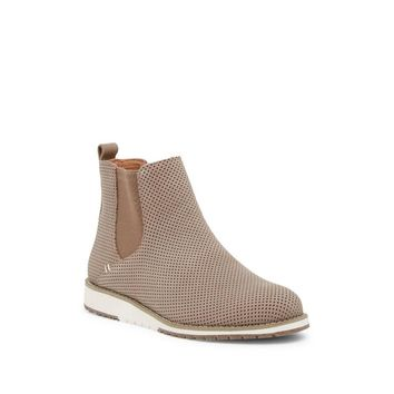 EMU Australia Women's Taria Perforated Wedge Suede Chelsea Boot