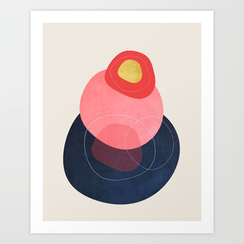 Modern minimal forms 27 Art Print by naturalcolors