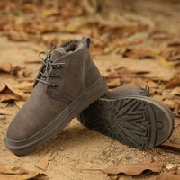 UGG Man Fashion Edgy Strappy Flats Casual Shoes-13