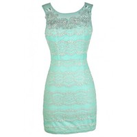 Lily Boutique Mint Lace Dress, Mint Lace Bodycon Dress, Fitted Mint Lace Dress, Mint Lace Party Dress, Cute Mint Dress, Mint Lace Summer Dress, Cute Summer Dress Lily Boutique