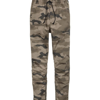 Cotton Twill Joggers - from H&M