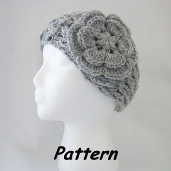 PDF CROCHET Pattern NEW Lattice Headband/Ear Warmer w by R0SEDEW