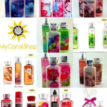 New Bath & Body Works Gift Set - You Choose Your Fragrance free Gift Wrap!