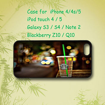 Starbucks, iPhone 5 Case, iPhone 4 Case, ipod 4, ipod 5, Samsung Galaxy S4, Samsung Galaxy S3, Samsung note 2, blackberry q10, z10