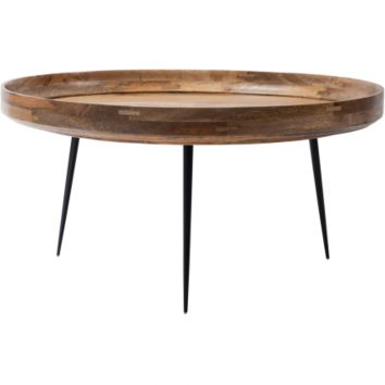 MANGO WOOD BOWL TABLE - EXTRA LARGE
