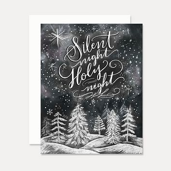 Silent Night, Holy Night - A2 Note Card