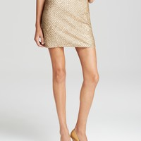 Joie Skirt - Bricia Sequin Embellished Silk