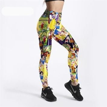 Snow  White Disney Leggings