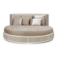 Beds: Ophelia Temptation Round Leather Bed VGWCTEM-8C005A/4