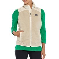 Patagonia Women's Retro-X Windproof Fleece Vest | Natural