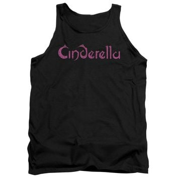 Cinderella - Logo Rough Adult Tank