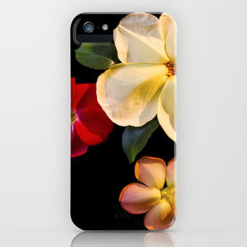 Real Fake Flowers iPhone & iPod Case by Jinzha Bloodrose