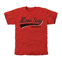Illinois State Redbirds All-American Secondary Tri-Blend T-Shirt - Red
