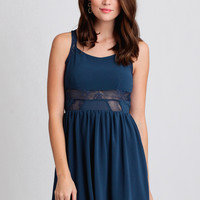 Bluer Skies Lace Dress