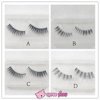 4 Styles Natural Make-up Upper False Eyelashes One Pair SP151775-SP151778