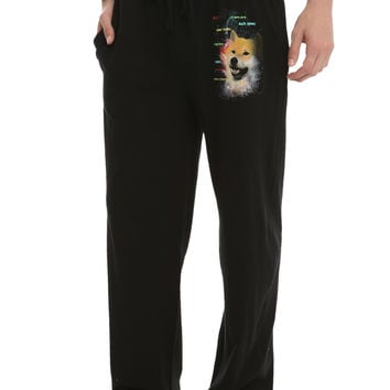 Doge Space Men's Pajama Pants
