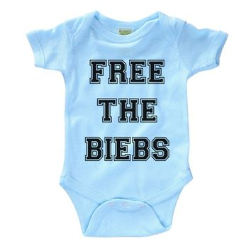 Free The Biebs Infant Onesuit