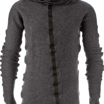 Isaac Sellam Experience 'Crapule' Hooded Sweater