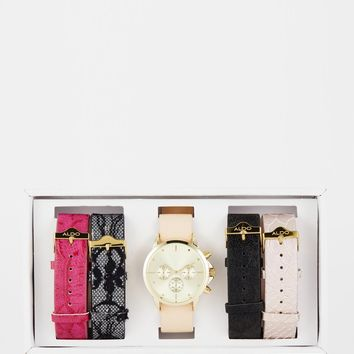 ALDO Latimera Multi Strap Watch at asos.com