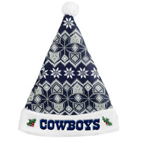 Dallas Cowboys 2015 Knit Santa Hat
