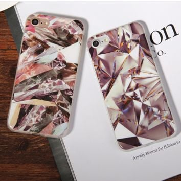 For Apple iPhone 6 6S plus Case for iphone 7 7 plus Soft Gel TPU Back Cover-0410