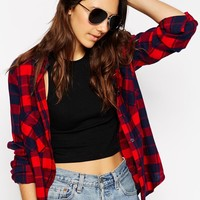 ASOS Gold Aviator Sunglasses