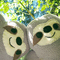 Rinny Stuffy - Three-Toed Sloth Stuffed Animal