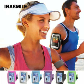 """M SIZE Workout Cover Waterproof PU Sports Case Running Arm Band Phone Cases For iPhone 6/6S 4.7"""" Casual Sport Accessories Case"""