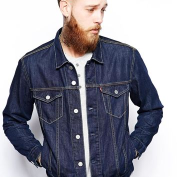 s Denim Jacket Regular Fit Trucker Stonewash