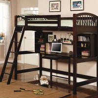 Barstow Computer Study Loft Bed