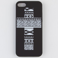Tribal Cross Iphone 5 Case Black Combo One Size For Women 22965714901
