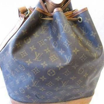 Tagre™ ONETOW Authentic Vintage Louis Vuitton Monogram Canvas Drawstring Bucket Bag