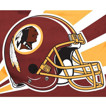 Washington Redskins 3'x5' Helmet Design Flag