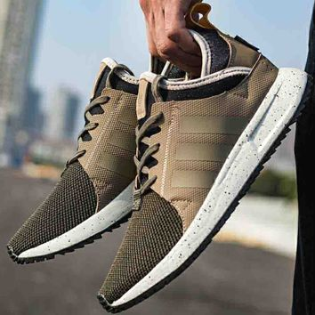 ADIDAS NMD clover 2018 men and women comfortable sports running shoes F-CSXY khaki