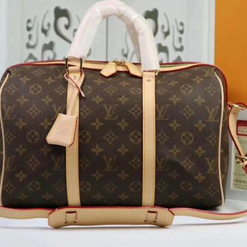 Louis Vuitton Women Fashion Leather Satchel Shoulder Bag Handbag Crossbody M42426