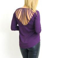 Ray Of Light Blouse in Purple -  $34.00 | Daily Chic Tops | International Shipping