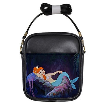 Peter Pan Mermaid CrossBody Bag