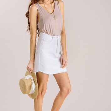 Adriana Rose Sleeveless V-Neck
