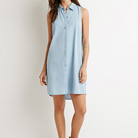 Chambray Shirt Dress