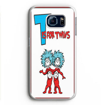 Thing 1 And Thing 2 Samsung Galaxy S6 Edge Case Aneend