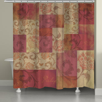 Relax and Calm Shower Curtain