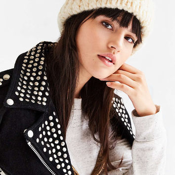 Braided Cuff Toque Hat - Urban Outfitters