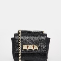 Vivienne Westwood Leather Bag with Chain Strap and Studding at asos.com