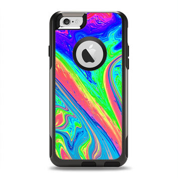 The Neon Color Fusion V9 OtterBox Commuter Case Skin Set (Other Models Available!)