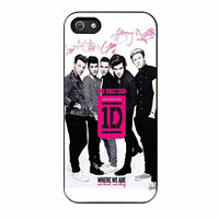 One Direction Where We Are iPhone 5s Case