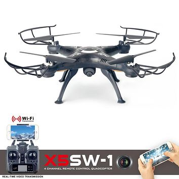 X5SW-1 RC Drone With Camera FPV Quadcopter With Camera Dron Headless Drone Profissional Real Time RC Helicopter VS JJRC H31