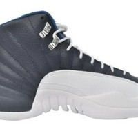 AIR JORDAN 12 RETRO 130690-410 OBSIDIAN