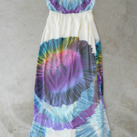 Polychromatic Maxi Dress [5038] - $36.00 : Vintage Inspired Clothing & Affordable Dresses, deloom | Modern. Vintage. Crafted.