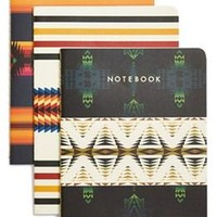 Set of 3 Pendleton Journals by Chronicle Books